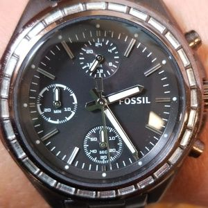 Fossil Brown Adjustable Watch